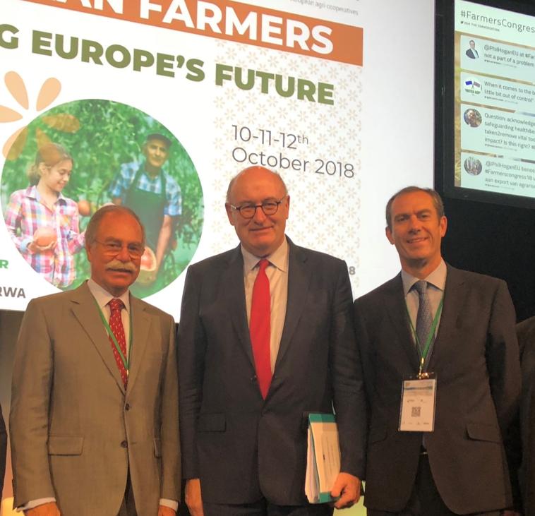 CAP Reúne com Comissário Europeu na Áustria
