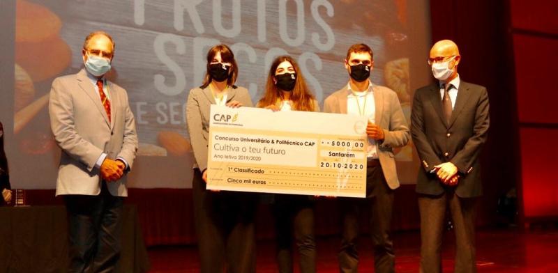 """Projeto """"Casca Rija"""" Vence o 9.º Concurso Universitário da CAP"""