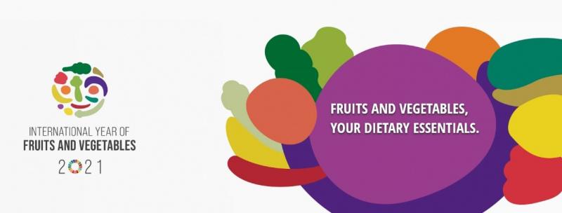 2021 Ano Internacional das Frutas e Vegetais