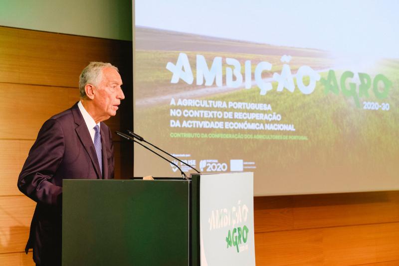 Presidente da República assiste à apresentação do contributo da CAP: AMBIÇÃO AGRO 2020-30