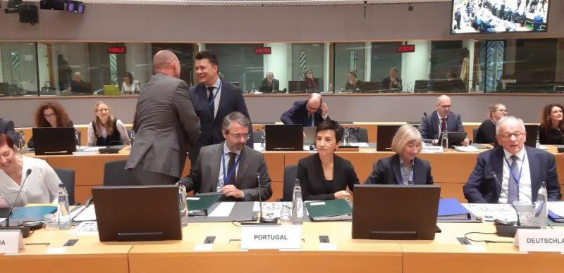 No Conselho Europeu de Agricultura, Ministra apela à necessidade de reforço do orçamento da PAC