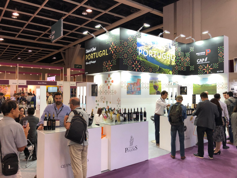 Portugal participa na Feira Internacional Wine and Spirits de Hong Kong
