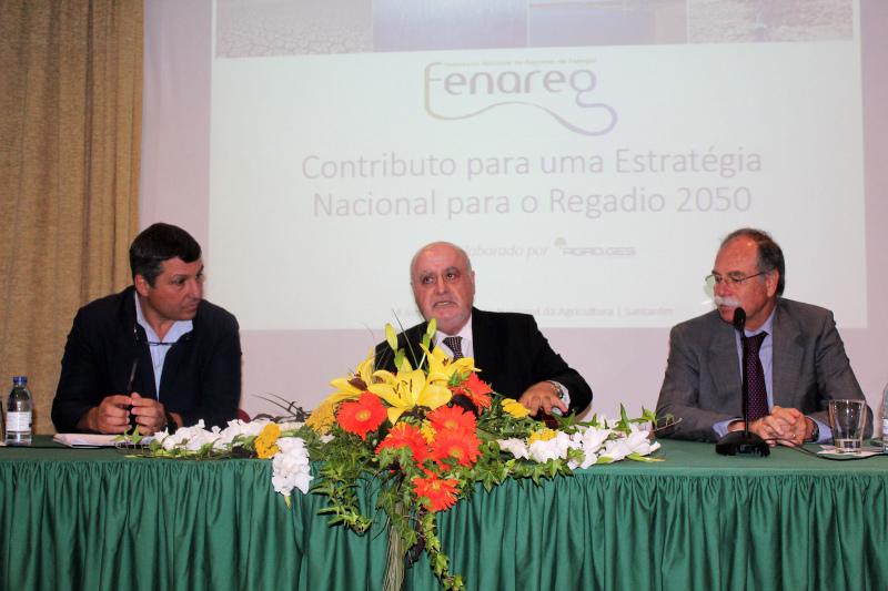FENAREG apresentou estratégia de longo prazo para o regadio em Portugal ao ministro da Agricultura na FNA'19
