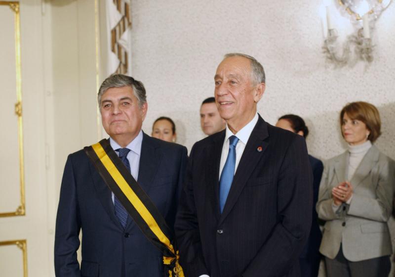 Presidente da República condecora João Machado