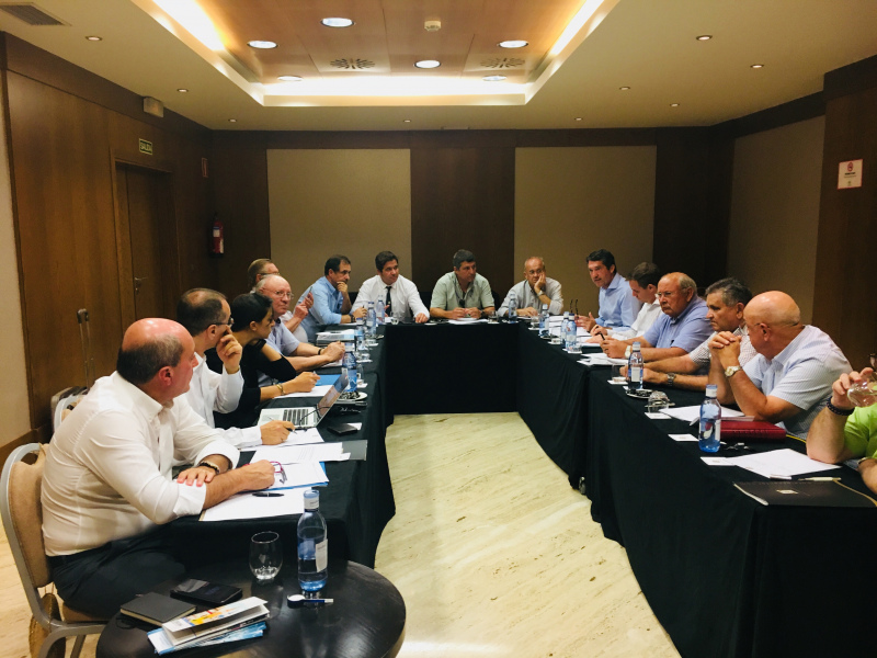 Assembleia Geral da Irrigants d'Europe reunida em Córdova