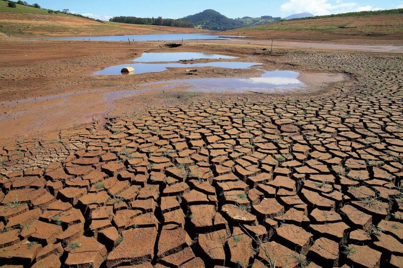 Chuva insuficiente mantém país em seca