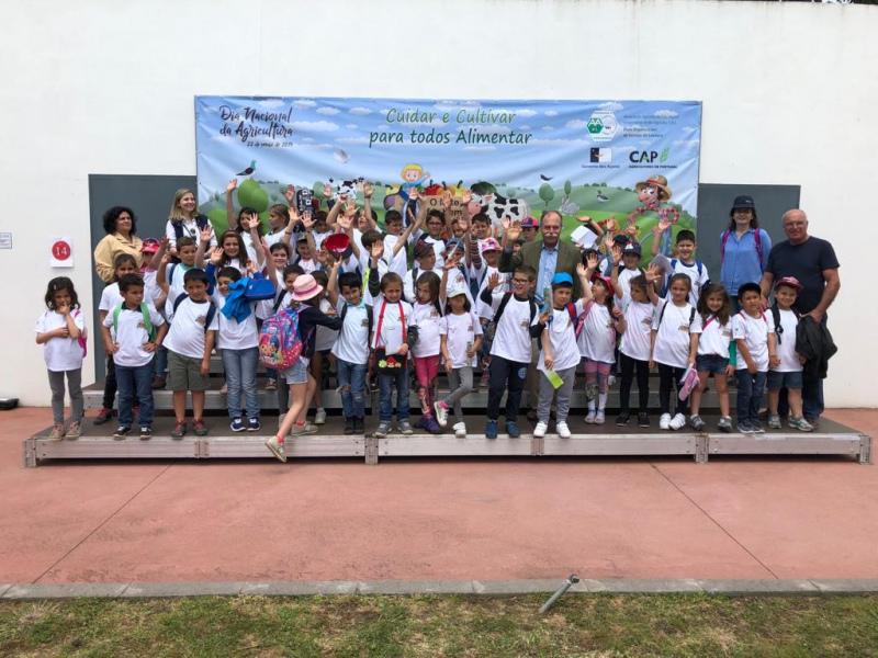Presidente da CAP nos Açores para celebrar o Dia da Agricultura na Escola