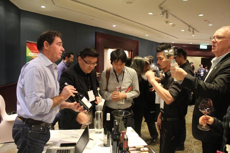 CAP apresenta vinhos em Taiwan