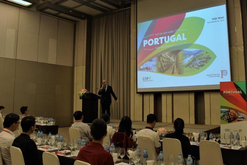 CAP encerra missão na Ásia com uma grande prova de vinhos no Vietname